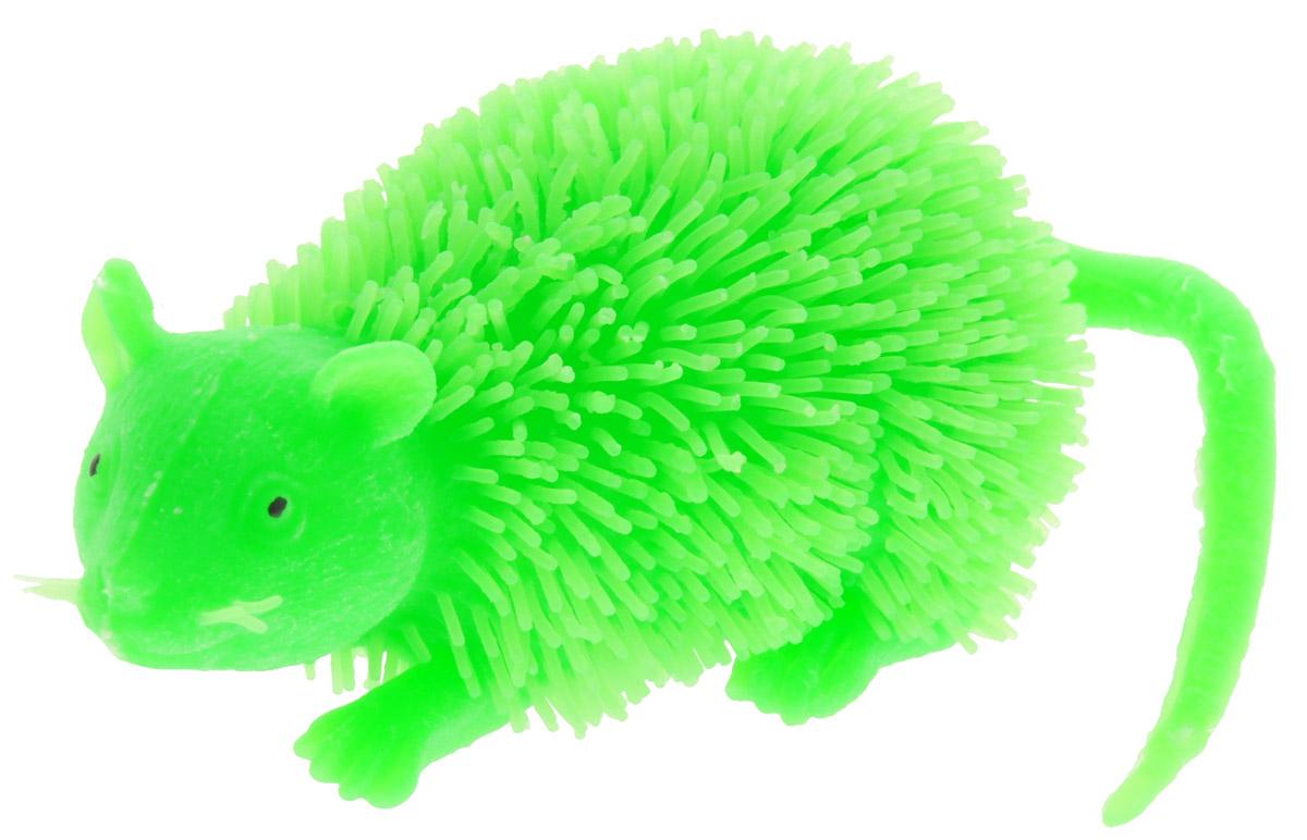 HGL Фигурка Мышь с подсветкой цвет зеленый цена