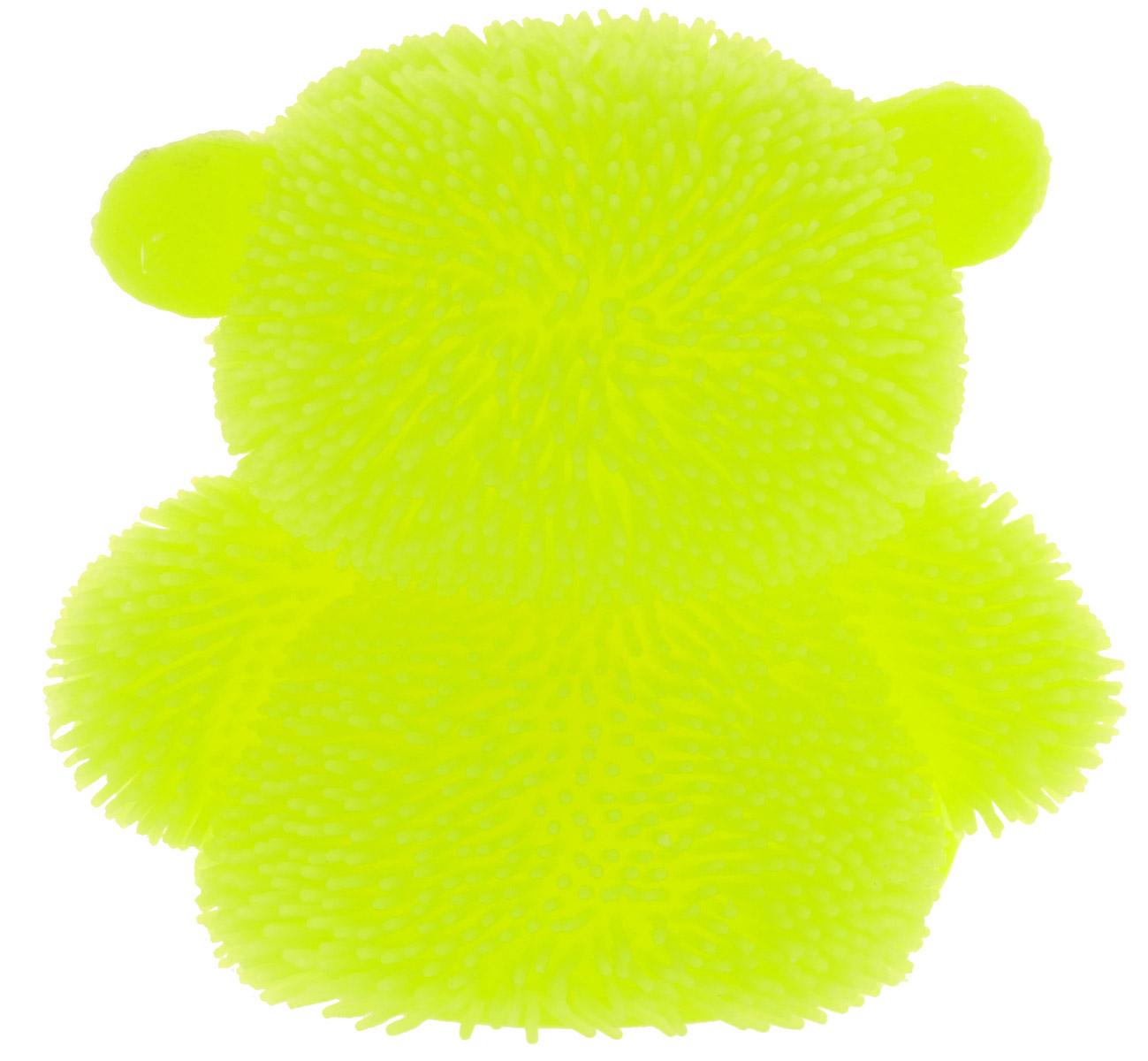 HGLФигурка Медведь с подсветкой цвет желтый