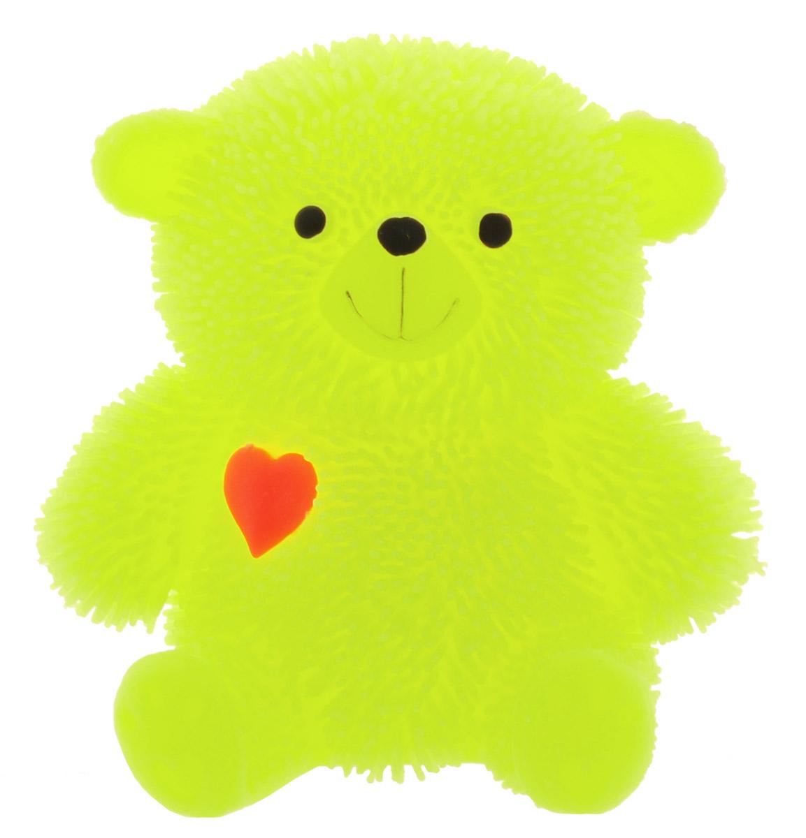 HGL Фигурка Медведь с подсветкой цвет желтый
