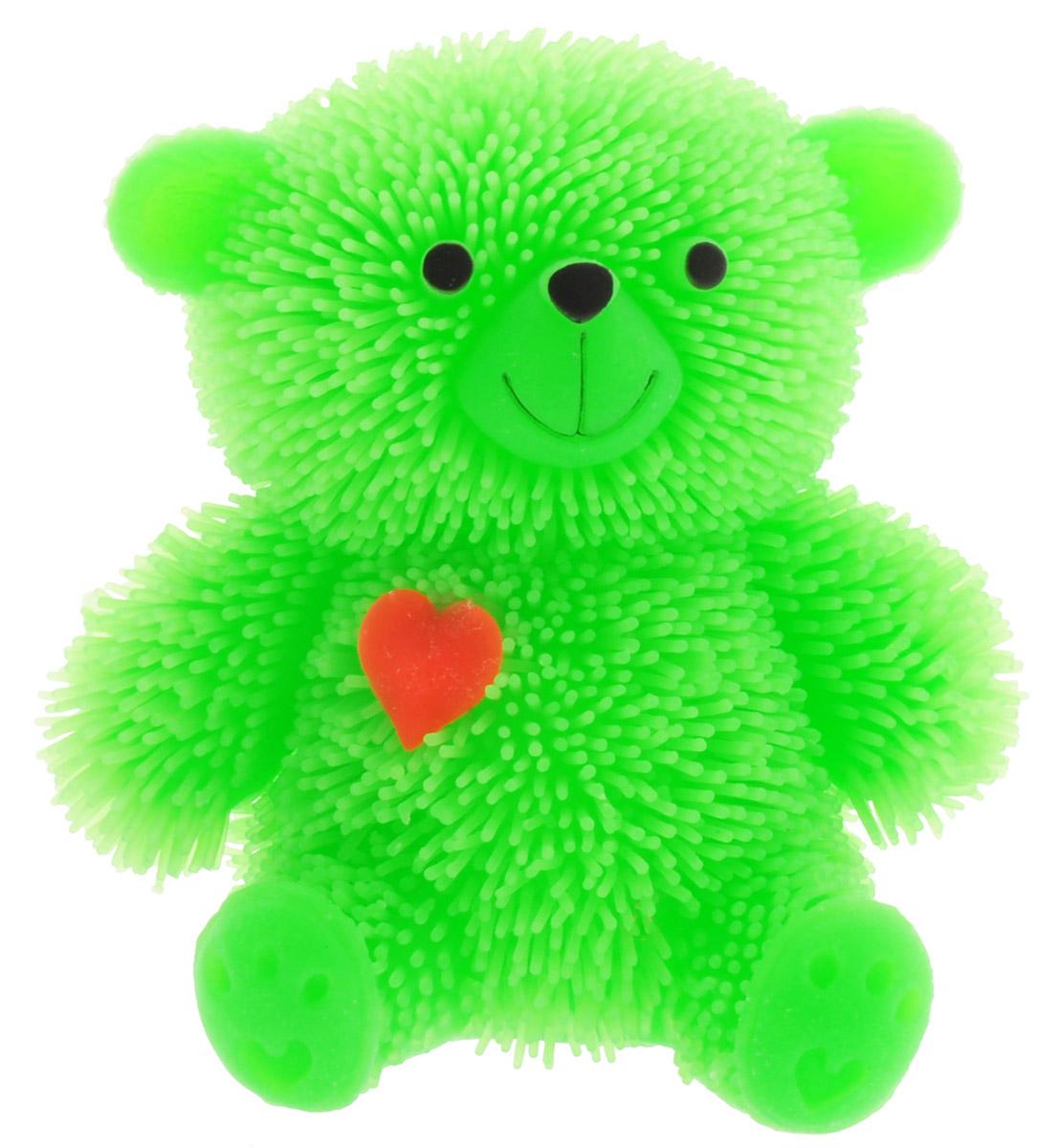 HGL Фигурка Медведь с подсветкой цвет зеленый