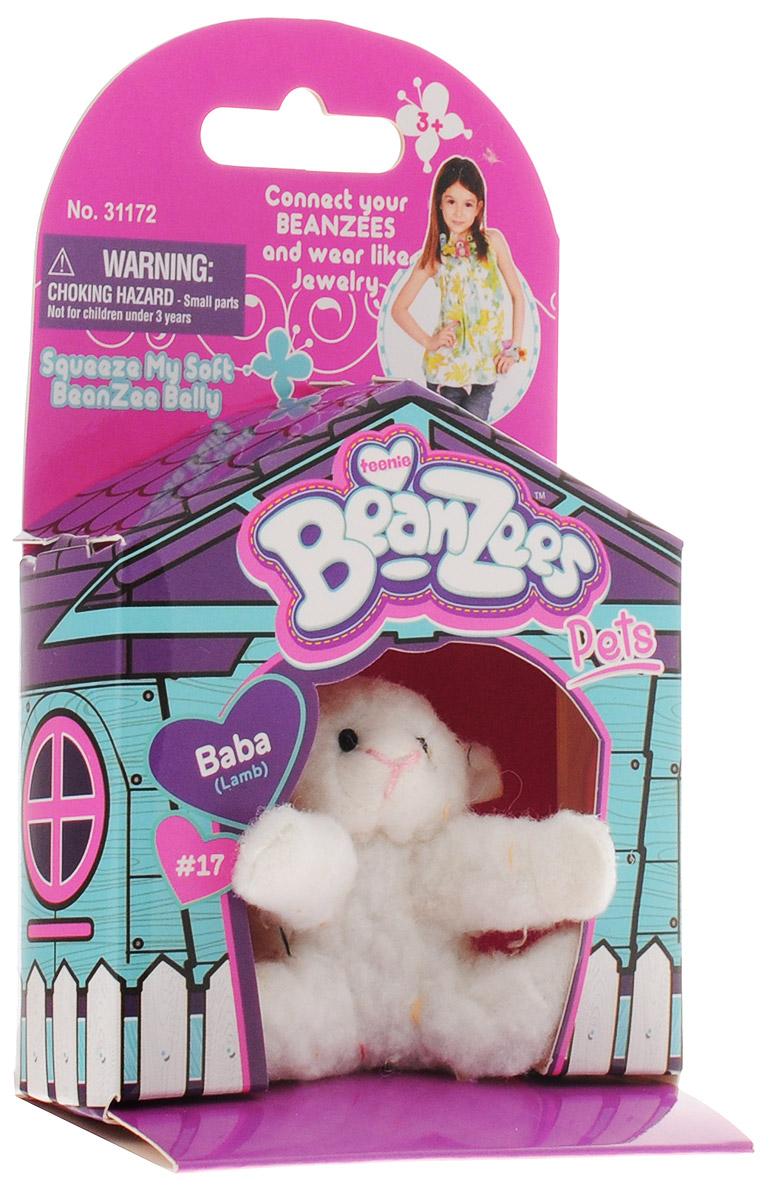 BeanzeesМягкая игрушка Ягненок Baba 5 см Beanzees