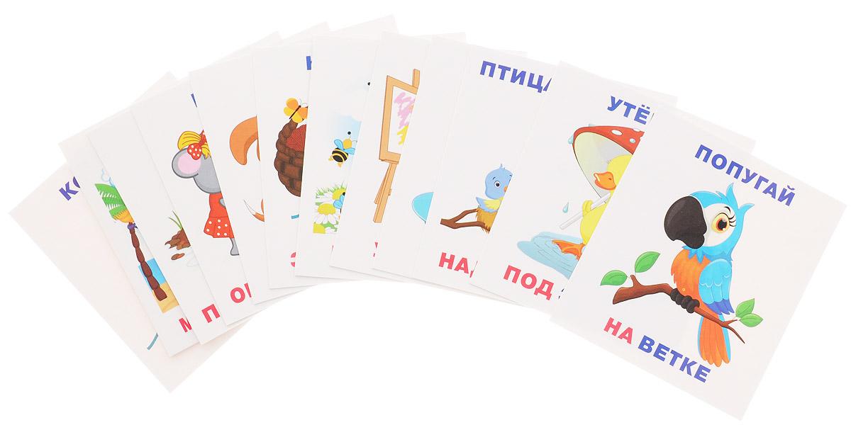Айрис-пресс Обучающие карточки Кто где находится набор для игры карточная айрис пресс iq карточки развиваем мышление 25624