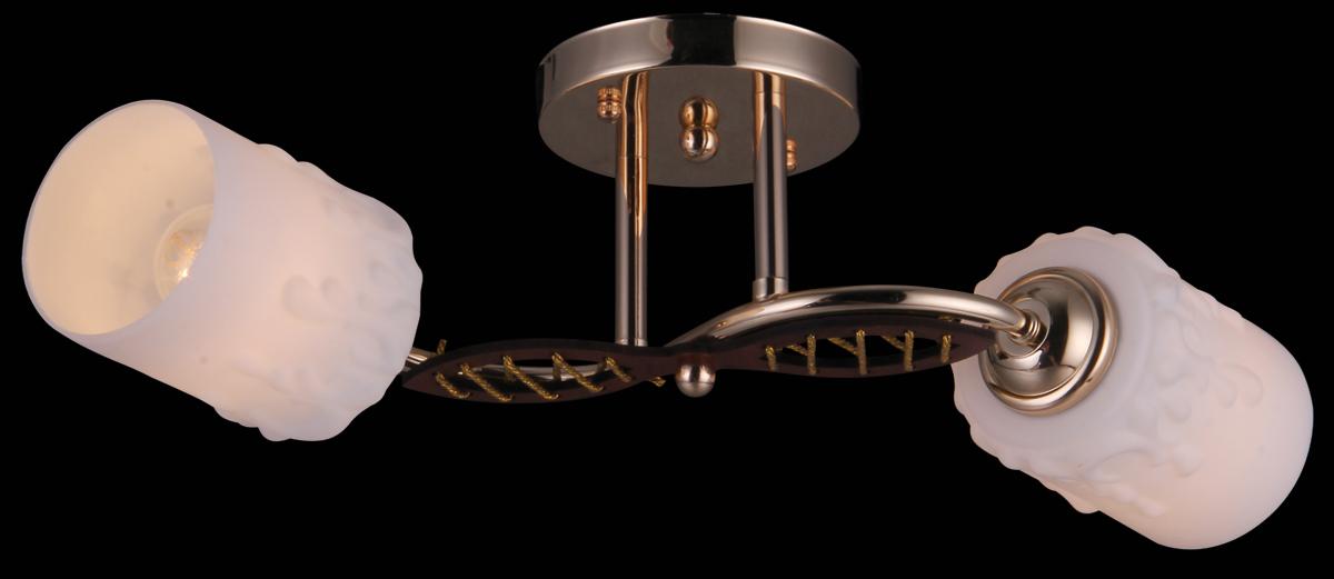 Люстра Natali Kovaltseva, 2 x E27, 40W. 11461/211461/2 FRENCHВ коллекциях NATALI KOVALTSEVA представлены разные стили – от классики до хайтека. Дизайн и технологическая составляющая продукции разрабатывается в R&D центре компании, который находится в г. Дюссельдорф, Германия. При производстве нашей продукции используются высококачественные и эксклюзивные материалы: хрусталь ASFOR, муранское стекло, перламутр, 24-каратное золото, бронза. Производство светильников соответствует стандарту системы менеджмента качества ISO 9001-2000. На всю продукцию ТМ Natali Kovaltseva распространяется гарантия.