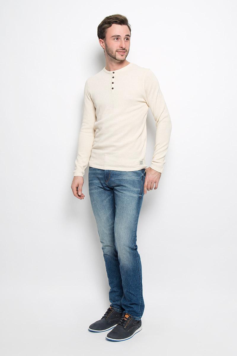Джемпер мужской Tom Tailor Denim, цвет: бежевый. 3021726.00.12_8452. Размер XL (52) джемпер мужской tom tailor denim цвет бордовый 3022104 01 12 4257 размер xl 52