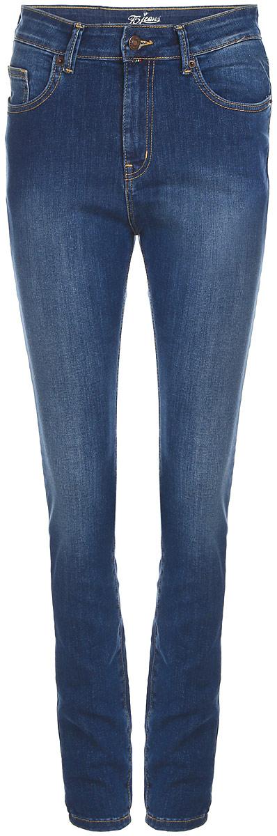 Джинсы женские F5, цвет: синий. 160252_19731. Размер 31-34 (46/48-34)160252_19731_Blue denim Tressa str., w.mediumСтильные женские джинсы F5 изготовлены из хлопка с добавлением полиэстера и спандекса. Джинсы-скинни стандартной посадки застегиваются на пуговицу в поясе и ширинку на застежке-молнии. На поясе предусмотрены шлевки для ремня. Спереди модель оформлена двумя втачными карманами и накладным кармашком, а сзади - двумя накладными карманами. Джинсы оформлены эффектом потертости и контрастной прострочкой.