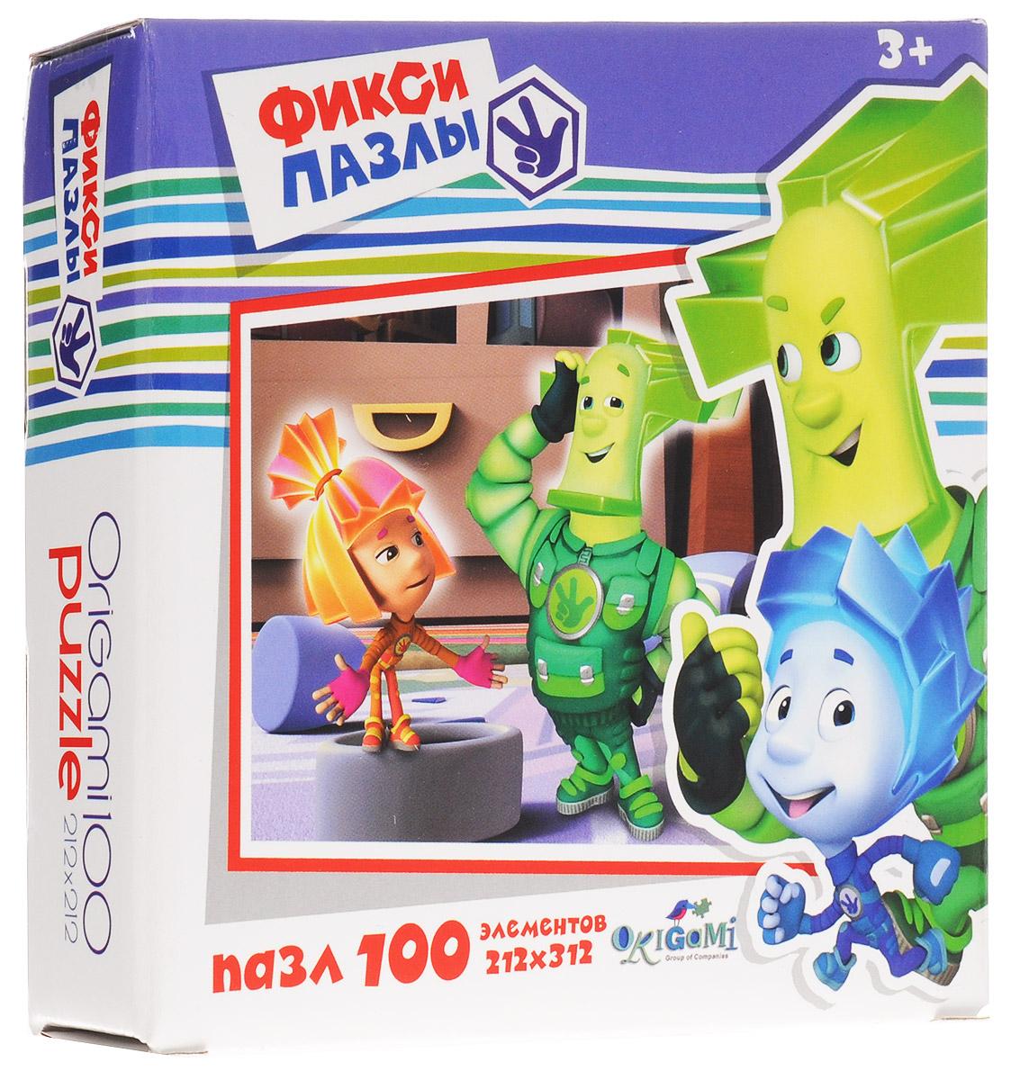 Оригами Пазл Фиксики Колесико