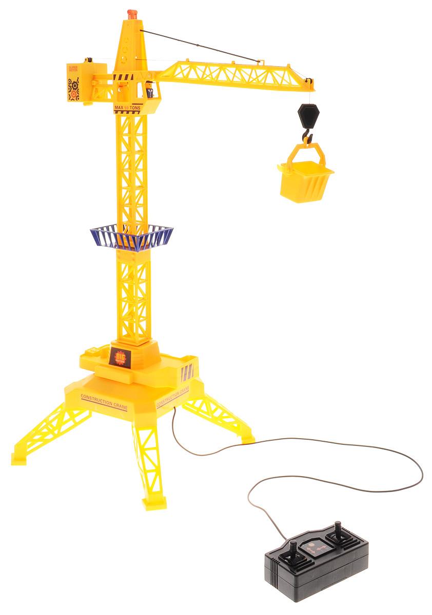 Big Motors Подъемный кран на проводном управлении big игрушки