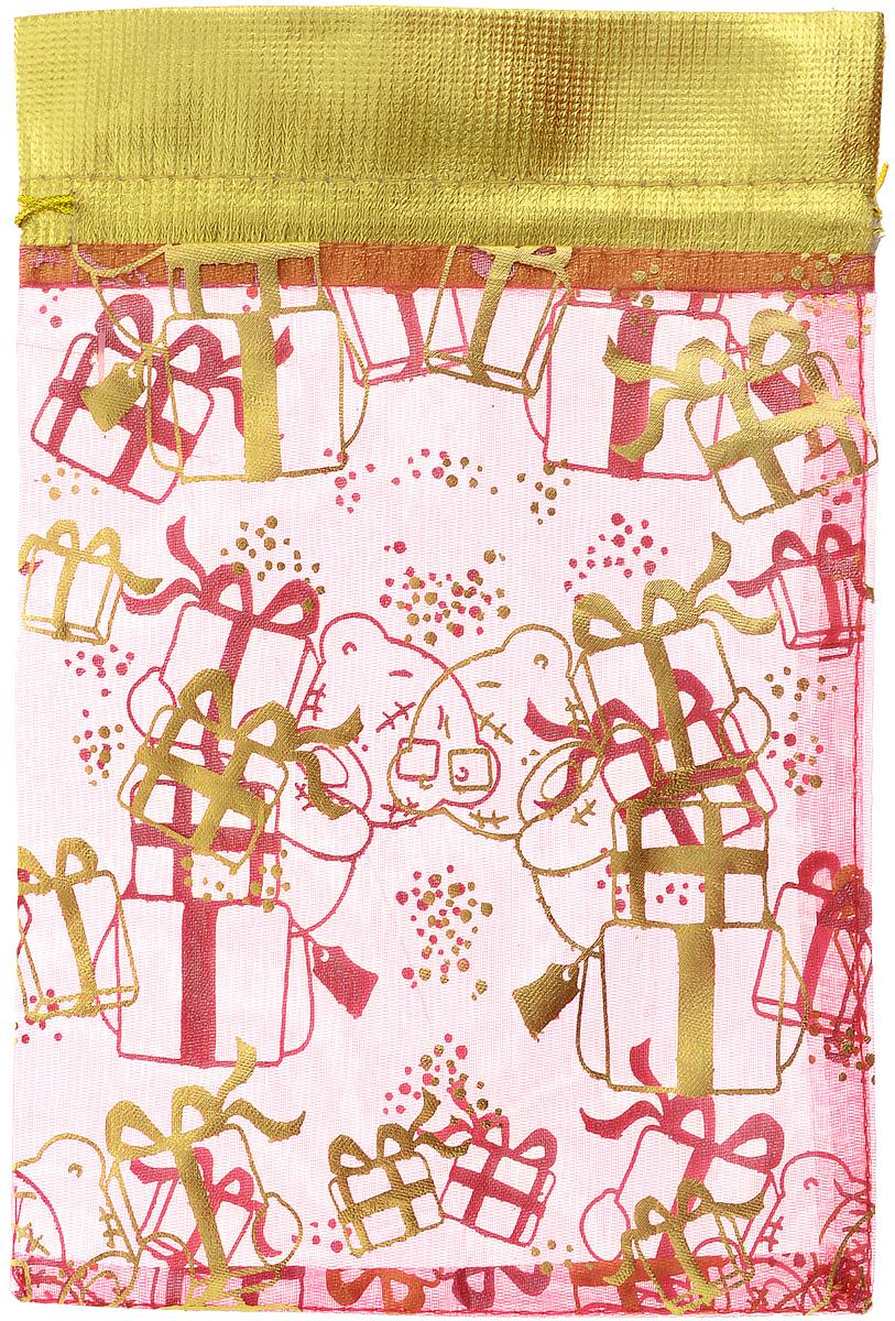 Мешок для подарков Winter Wings Me To You, 21 х 14 смMTY-N14002Мешок Winter Wings Me To You, выполненный из полиэстера, предназначен для подарков. Мешочек украшен изображением Мишки Тедди с подарками. Такой аксессуар особенно актуален в преддверии новогодних праздников. Откройте для себя удивительный мир сказок и грез. Почувствуйте волшебные минуты ожидания праздника, создайте новогоднее настроение вашим дорогим и близким.Размер мешка: 21 х 14 см.