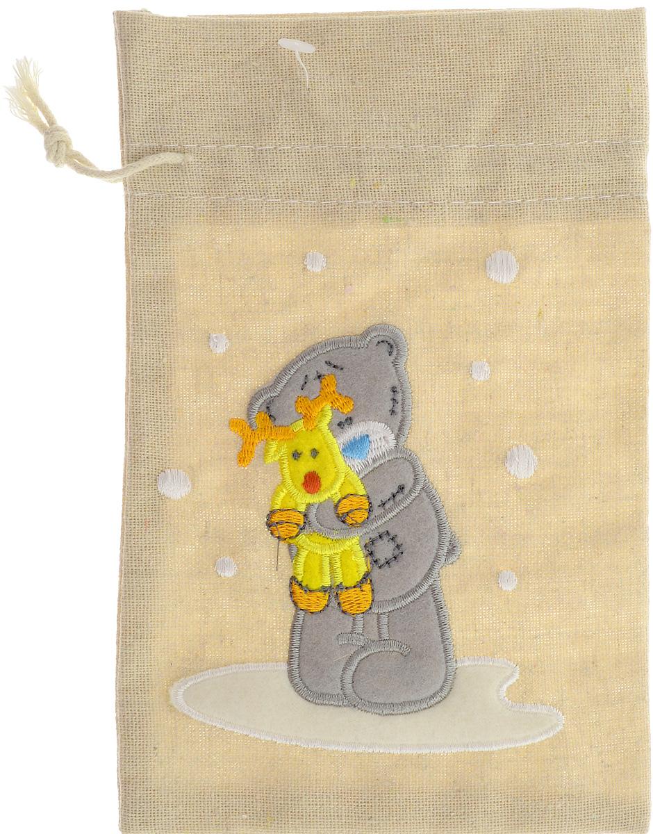 Мешок подарочный Winter Wings Me To You. Мишка с игрушкой, 20 х 13 см панно winter wings me to you мишка с подарками 63 х 55 см
