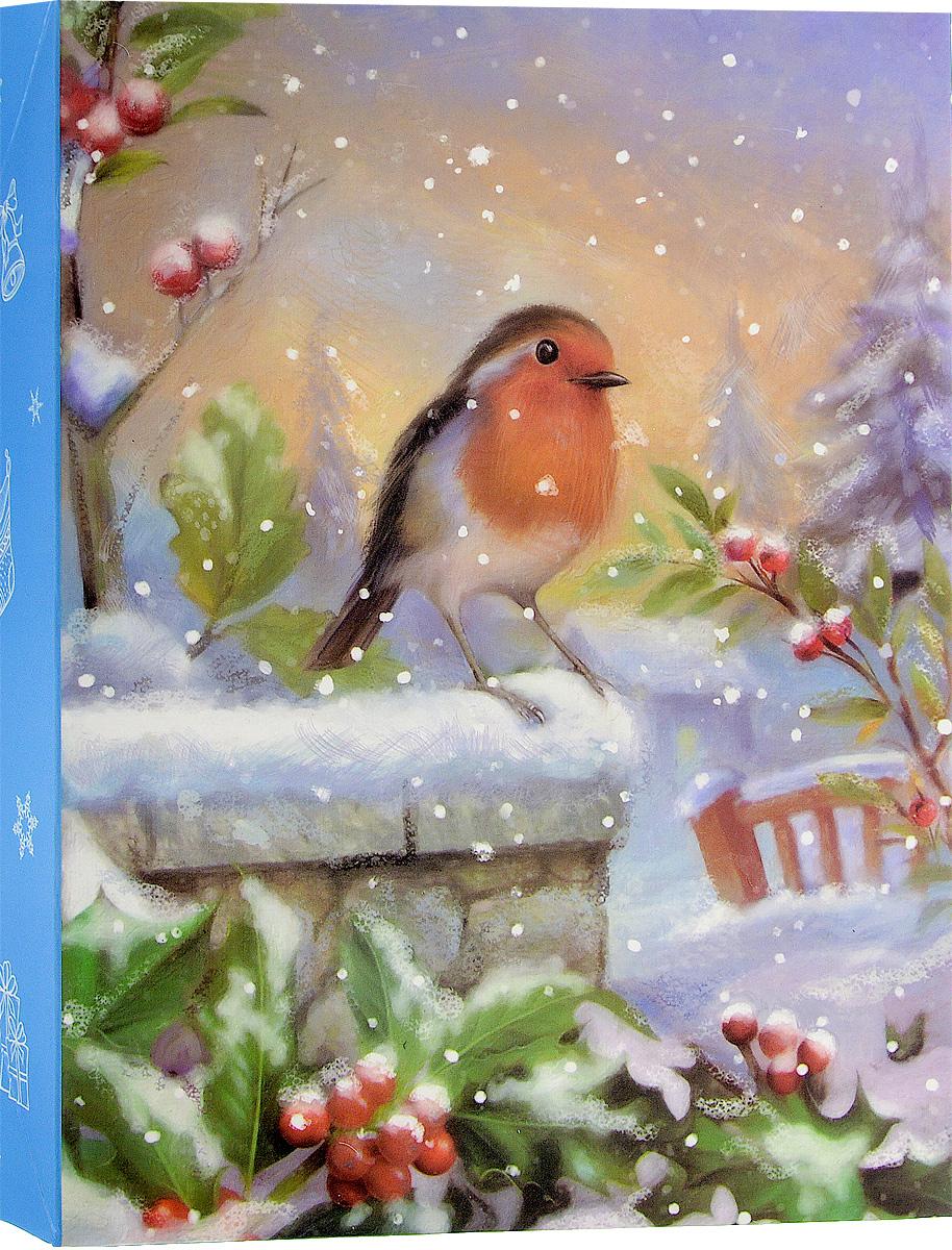 Коробка подарочная Winter Wings, 18 х 5 х 23 смN14063_голубой, снегирьПодарочная коробка Winter Wings выполнена из картона. Крышка оформлена изображением снегиря. Подарочная коробка - это наилучшее решение, если вы хотите порадовать ваших близких и создать праздничное настроение, ведь подарок, преподнесенный воригинальной упаковке, всегда будет самым эффектным и запоминающимся. Окружите близких людей вниманием и заботой, вручив презент в нарядном,праздничном оформлении. Размеры: 18 х 5 х 23 см.