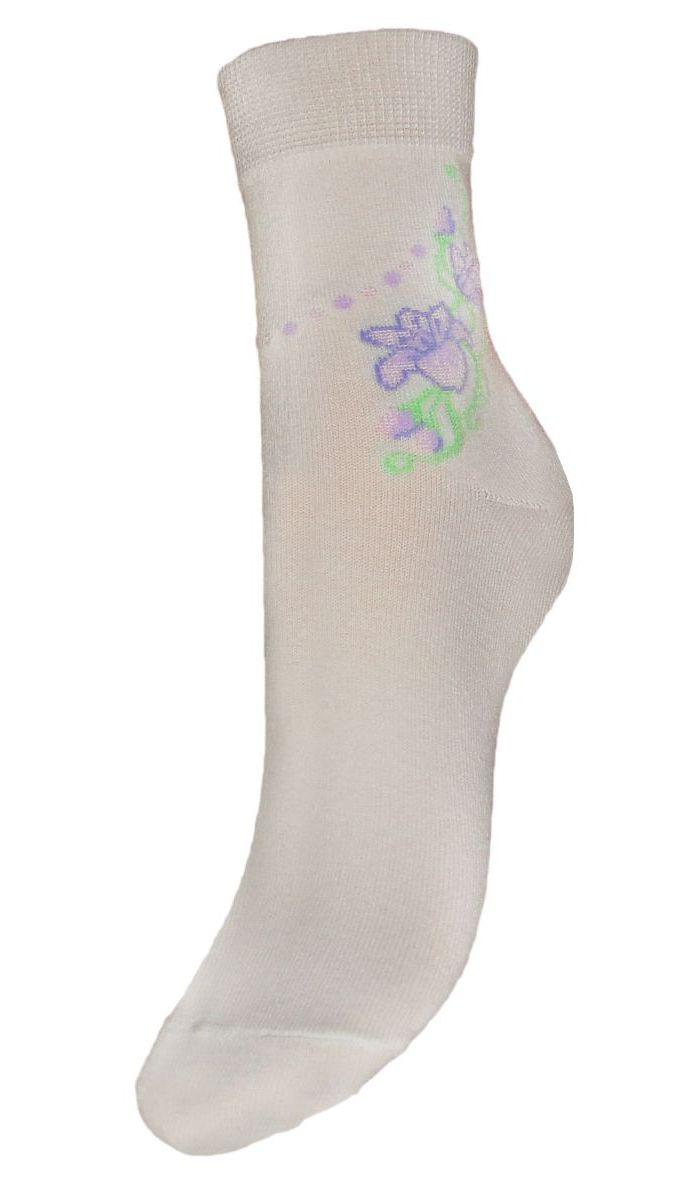 Носки женские Гранд, цвет: белый, 2 пары. SCL32. Размер 23/25SCL32Женские носки Гранд выполнены из высококачественного хлопка, предназначены для повседневной носки. Носки, оформленные на паголенке текстурным рисунком цветок, изготовлены по европейским стандартам из самой лучшей гребенной пряжи, хорошо держат форму и обладают повышенной воздухопроницаемостью, имеют безупречный внешний вид, усиленные пятку и мысок для повышенной износостойкости, после стирки не меняют цвет. Носки долгое время сохраняют форму и цвет, а так же обладают антибактериальными и терморегулирующими свойствами.