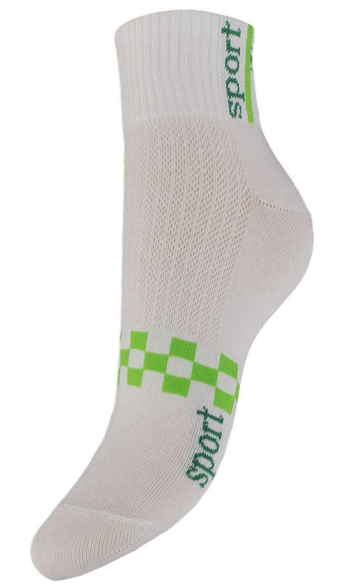 Носки женские Гранд, цвет: белый, 2 пары. SCL55. Размер 23/25SCL55Женские укороченные носки Гранд выполнены из высококачественного хлопка. Носки, оформленные на паголенке надписью sport, изготовлены по европейским стандартам из самой лучшей гребенной пряжи, имеют усиленные пятку и мысок для повышенной износостойкости. Функция отвода влаги позволяет сохранить ноги сухими. Благодаря свойствам эластана, не теряют первоначальный вид. Носки долгое время сохраняют форму и цвет, а так же обладают антибактериальными и терморегулирующими свойствами.