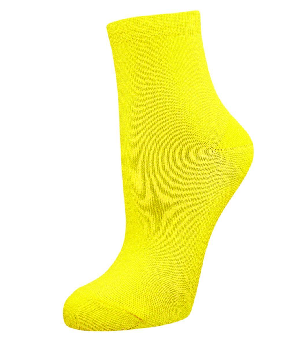 Носки женские Гранд, цвет: желтый, 2 пары. SCL98. Размер 23/25 носки гранд носки