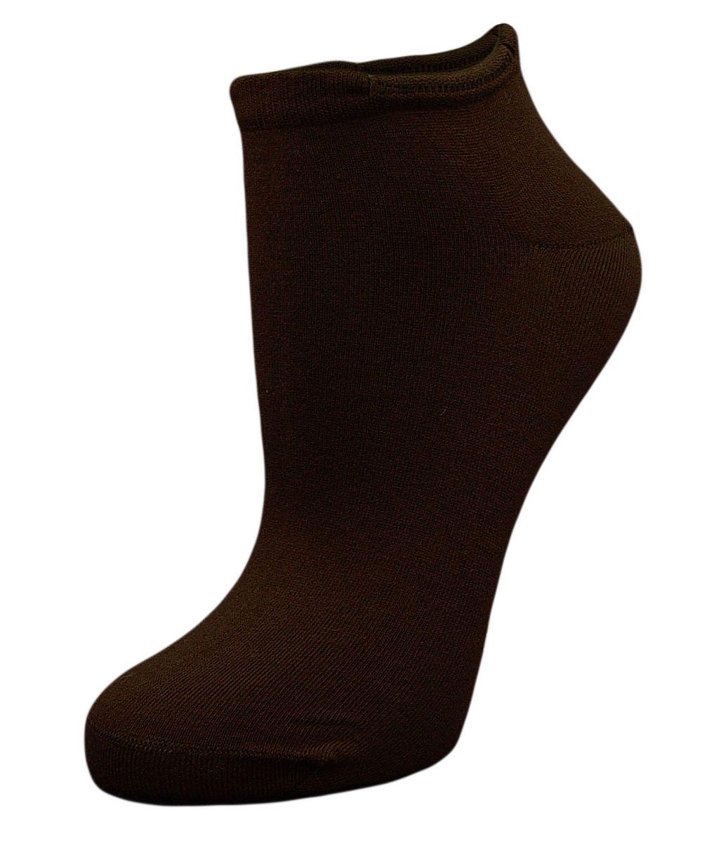 Купить Носки женские Гранд, цвет: темно-коричневый, 2 пары. SCL4. Размер 23/25