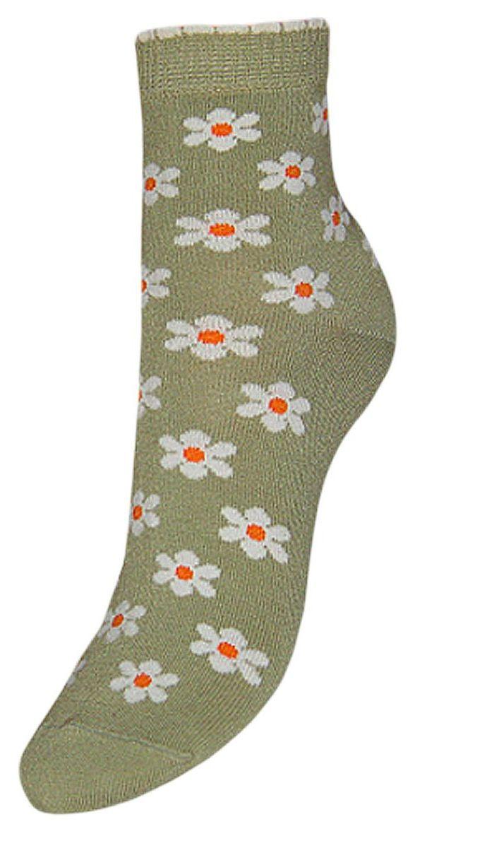 Купить Носки женские Гранд, цвет: оливковый, 2 пары. SCL64. Размер 23/25