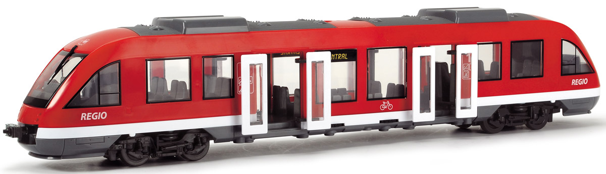Dickie Toys Городской поезд игрушка dickie toys городской поезд 3748002