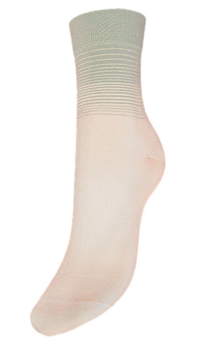 Носки женские Гранд, цвет: кремовый, серо-зеленый, 2 пары. SCL56. Размер 23/25SCL56Женские носки Гранд выполнены из высококачественного хлопка, предназначены для повседневной носки. Носки с бесшовной технологией зашивки мыска (кеттельный шов) изготовлены по европейским стандартам из лучшей гребенной пряжи, имеют классический паголенок, безупречный внешний вид, усиленные пятку и мысок для повышенной износостойкости, после стирки не меняют цвет. Носки долгое время сохраняют форму и цвет, а так же обладают антибактериальными и терморегулирующими свойствами.