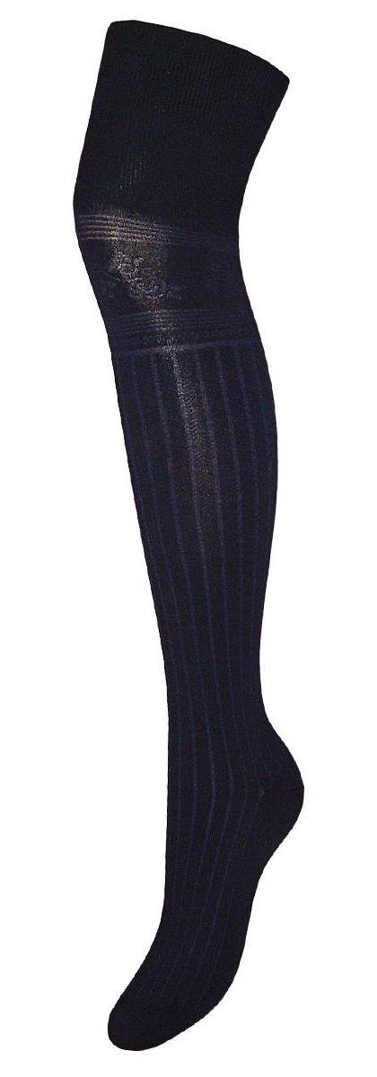 Гольфы женские Гранд, цвет: синий, 2 пары. SCL81. Размер 23/25SCL81Женские гольфы Гранд выполнены из высококачественного хлопка. Удобная резинка не стягивает ногу и не позволяет гольфам сползать вниз. Гольфы хорошо держат форму, обладают повышенной воздухопроницаемостью, после стирки не меняют цвет, имеют усиленные пятку и мысок для повышенной износостойкости. Благодаря свойствам эластана, не теряют первоначальный вид. Используя европейские стандарты на современных вязальных автоматах, компания Гранд предоставляет покупателю высокое качество изготавливаемой продукции.