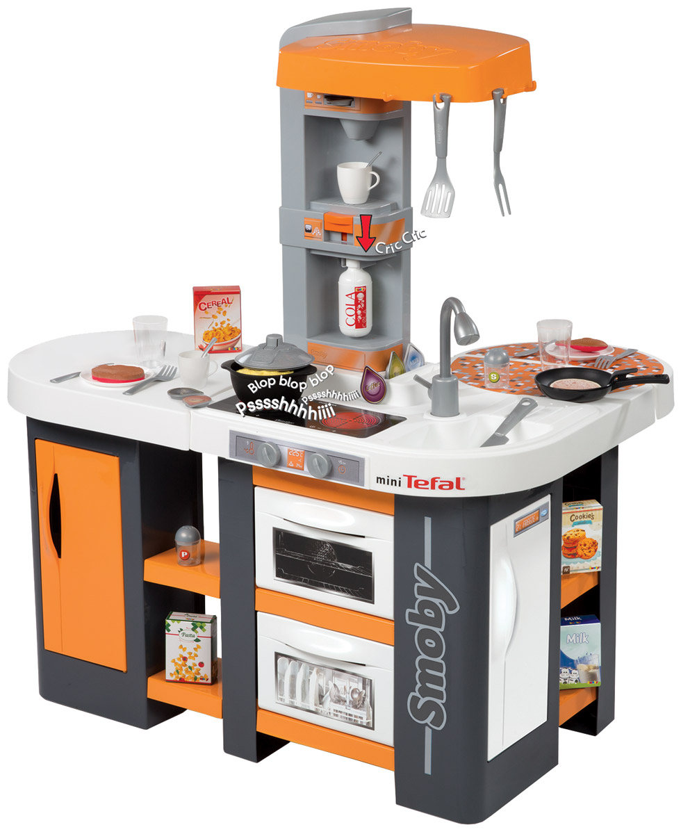 Smoby Игрушечная кухня Studio XL