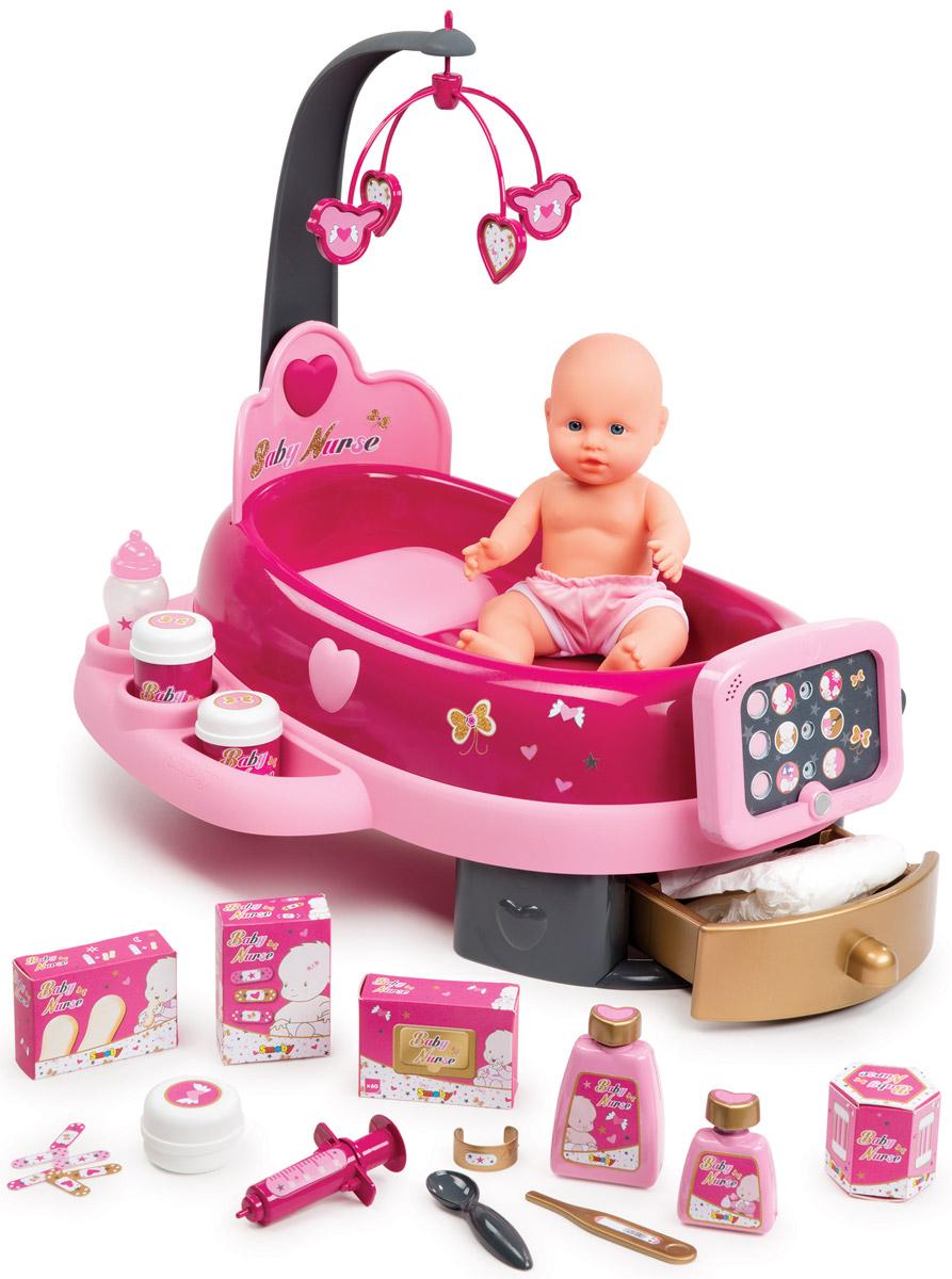 Smoby Игровой набор с куклой Электронная детская