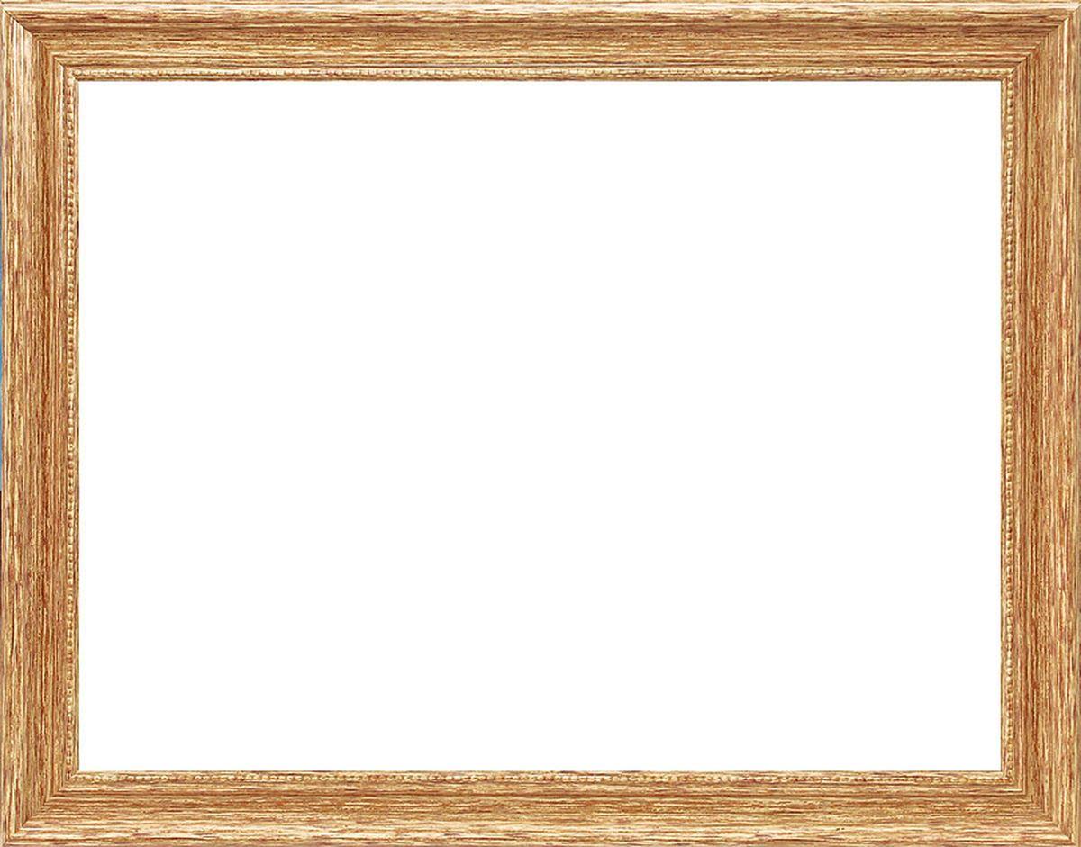 Рама багетная Белоснежка Holly, цвет: золотой, 30 х 40 см рама багетная белоснежка regina цвет черный серебряный 40 х 50 см