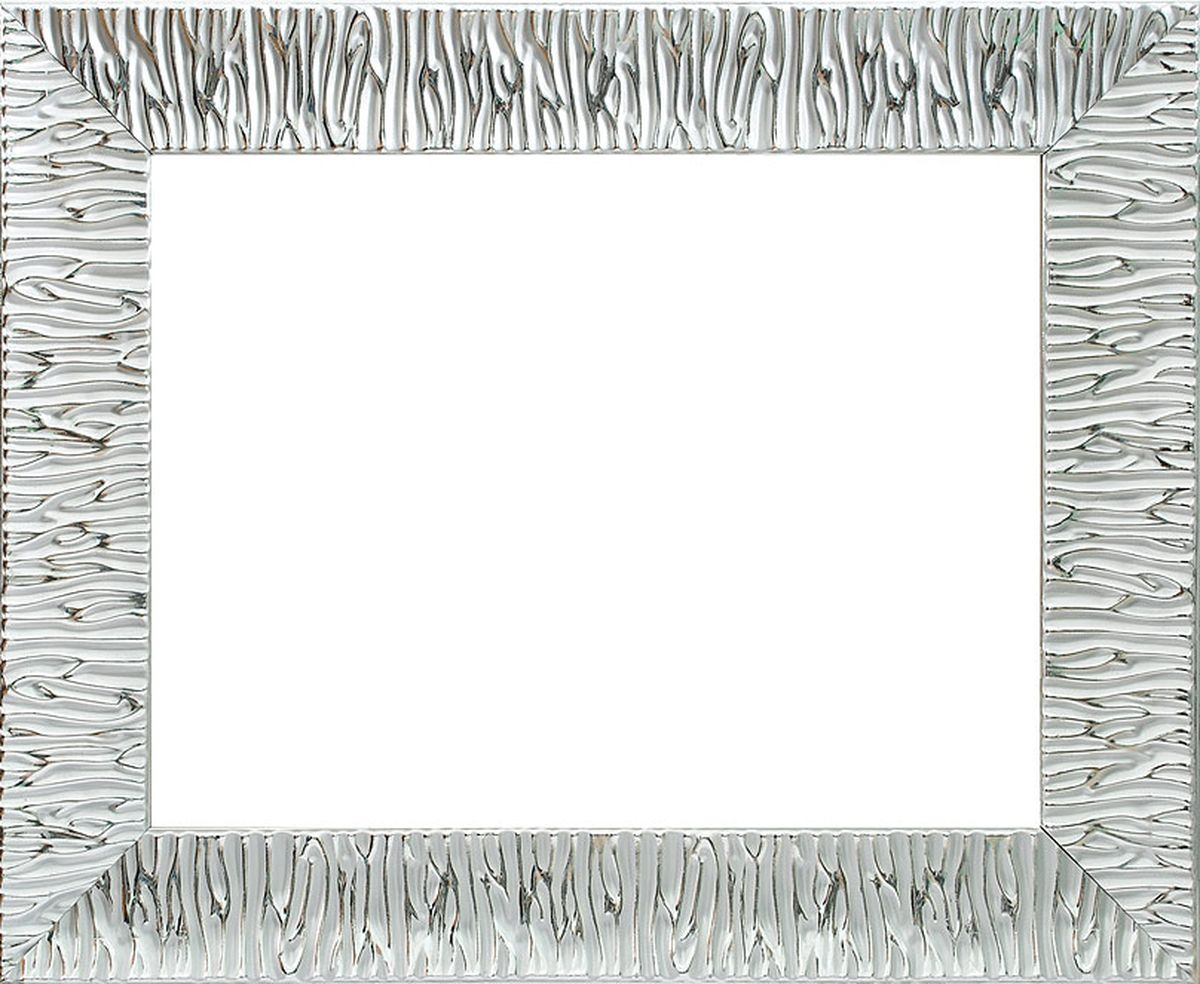 Рама багетная Белоснежка Nikki, цвет: серебряный, 30 х 40 см рама багетная белоснежка regina цвет черный серебряный 40 х 50 см