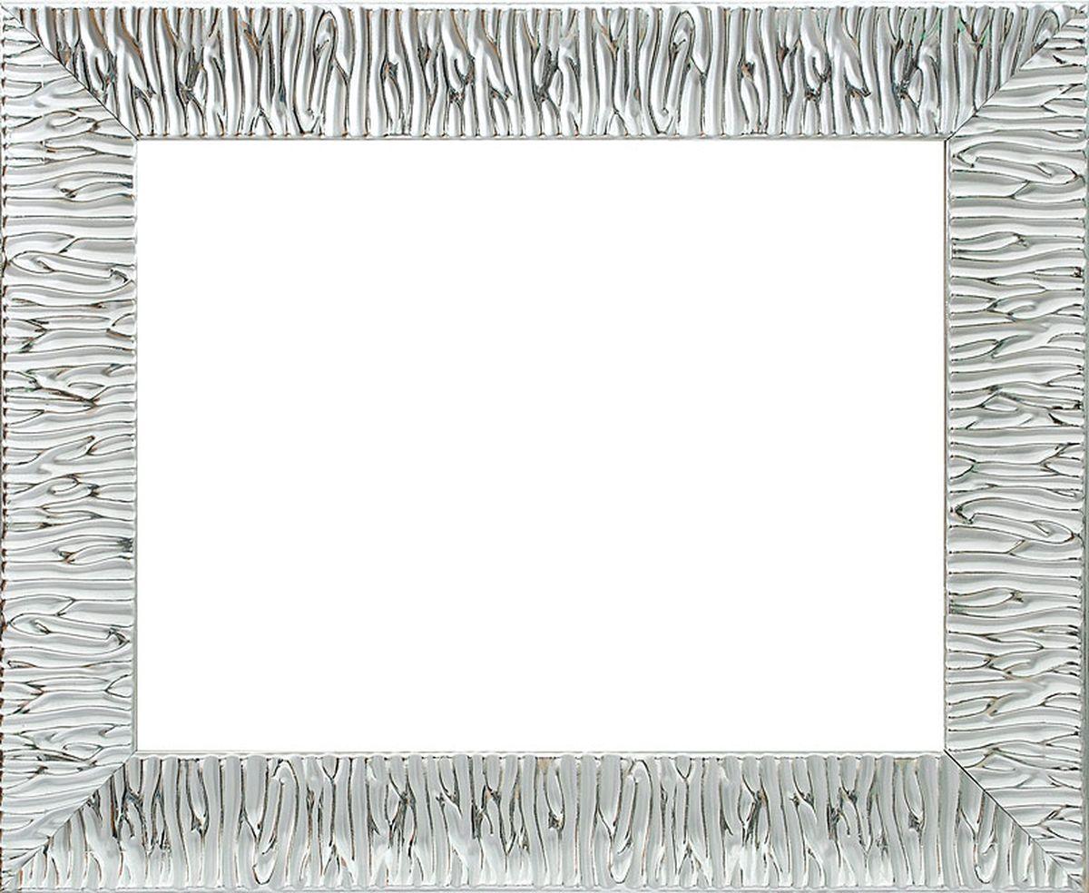 Рама багетная Белоснежка Nikki, цвет: серебряный, 40 х 50 см рама багетная белоснежка regina цвет черный серебряный 40 х 50 см