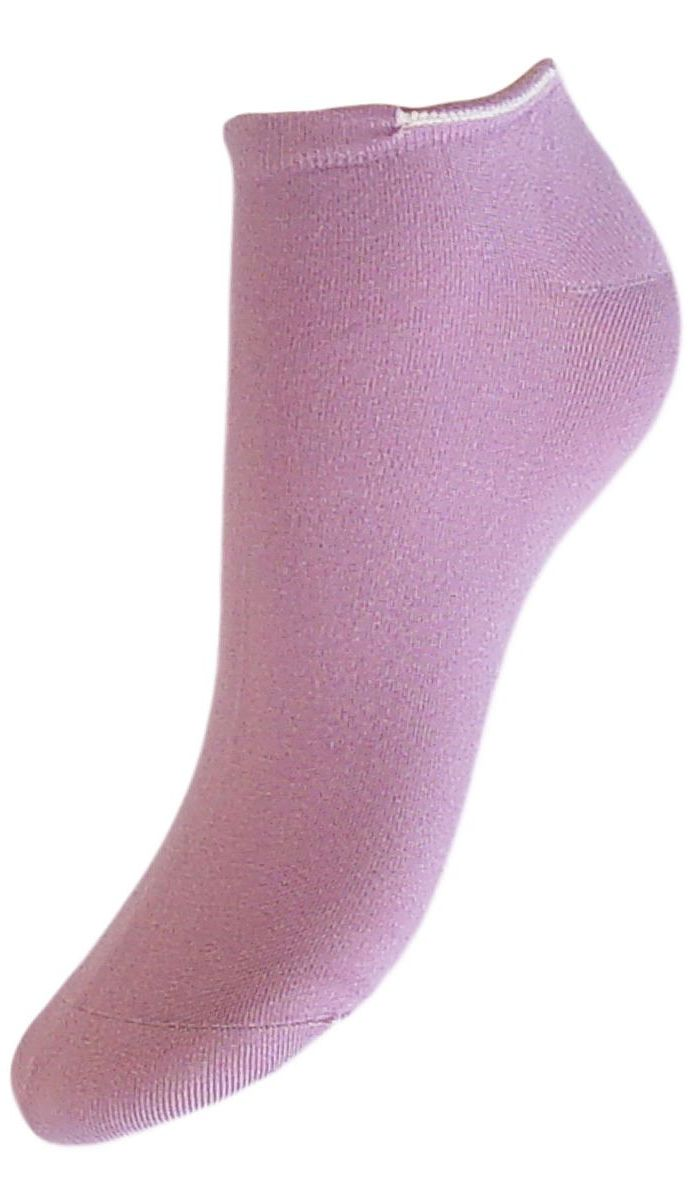 Носки женские Гранд, цвет: сиреневый, 2 пары. SML4. Размер 23/25SML4Женские носки Гранд выполнены из высококачественного модала, для повседневной носки. Носки с укороченным паголенком изготовлены по европейским стандартам из лучшего волокна, имеют бархатистую структуру, обладают повышенной воздухопроницаемостью, не линяют после стирок. Функция отвода влаги позволяет сохранить ноги сухими. Благодаря свойствам эластана, не теряют первоначальный вид. Используя европейские стандарты на современных вязальных автоматах, компания Гранд предоставляет покупателю высокое качество изготавливаемой продукции.