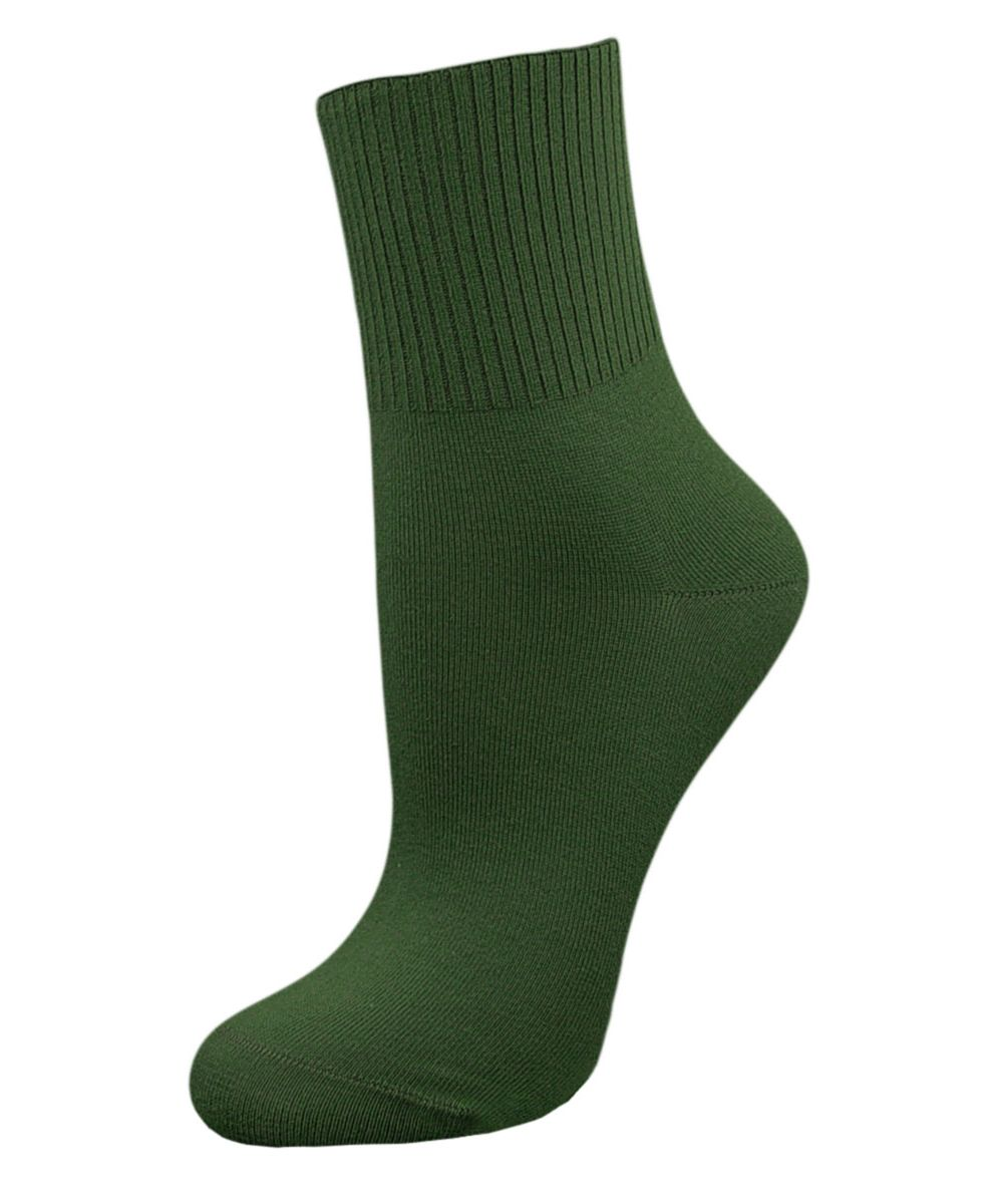 Носки женские Гранд, цвет: темно-зеленый, 2 пары. SCL67. Размер 23/25SCL67Женские носки Гранд с медицинской резинкой изготовлены по специальной технологии для людей, страдающих заболеваниями ног, а также для тех, кто думает о своем здоровье и хочет предотвратить эти заболевания. Данная модель медицинских носков мягкая, удобная, эластичная и прочная. Носки предназначены для оздоровления ног и профилактики венозной недостаточности, а также для снятия синдрома тяжести в ногах. Носки с бесшовной технологией зашивки мыска (кеттельный шов) изготовлены по европейским стандартам из лучшей гребенной пряжи, хорошо держат форму и обладают повышенной воздухопроницаемостью, имеют безупречный внешний вид, усиленные пятку и мысок для повышенной износостойкости, после стирки не меняют цвет. Компания Гранд использует только натуральные волокна для изготовления лечебных носков по всем требованиям медицинских стандартов.