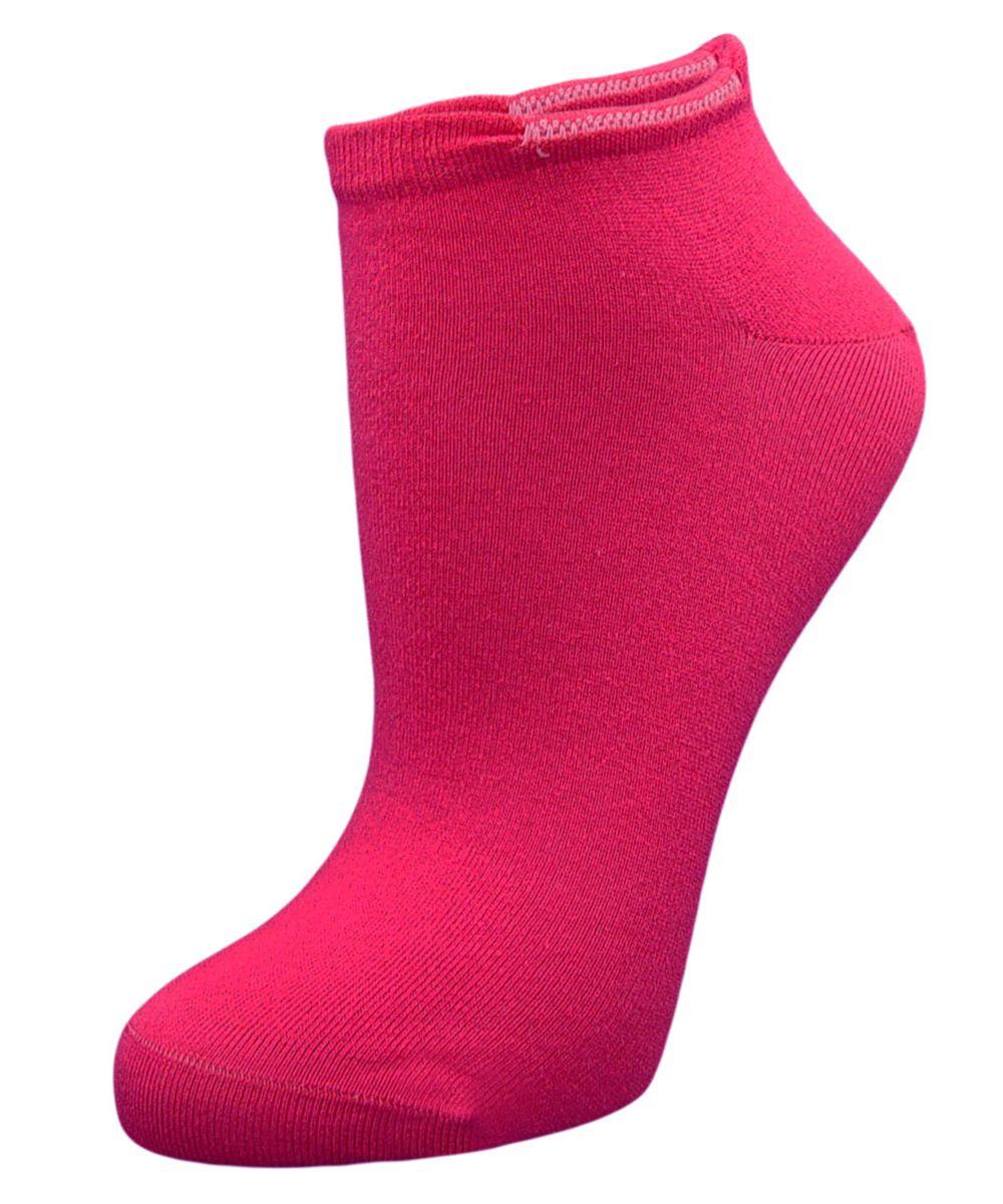 Носки женские Гранд, цвет: фуксия, 2 пары. SCL4. Размер 23/25SCL4Женские укороченные носки Гранд выполнены из высококачественного хлопка, предназначены для занятий спортом. Носки с бесшовной технологией зашивки мыска (кеттельный шов) изготовлены по европейским стандартам из самой лучшей гребенной пряжи, хорошо держат форму и обладают повышенной воздухопроницаемостью, имеют усиленные пятку и мысок для повышенной износостойкости, после стирки не меняют цвет. Функция отвода влаги позволяет сохранить ноги сухими. Благодаря свойствам эластана, не теряют первоначальный вид. Носки долгое время сохраняют форму и цвет, а так же обладают антибактериальными и терморегулирующими свойствами.