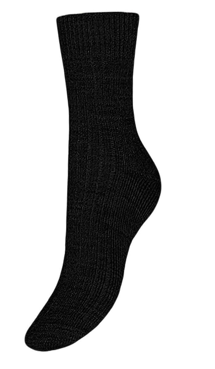 Носки женские Гранд, цвет: черный, 2 пары. SA70. Размер 23/25  - купить со скидкой