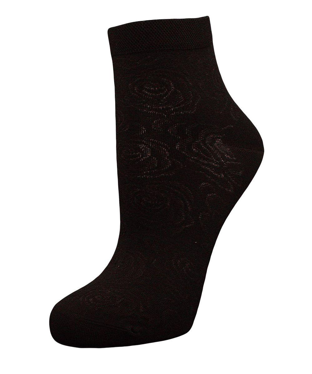 Купить Носки женские Гранд, цвет: черный, 2 пары. SCL37. Размер 23/25