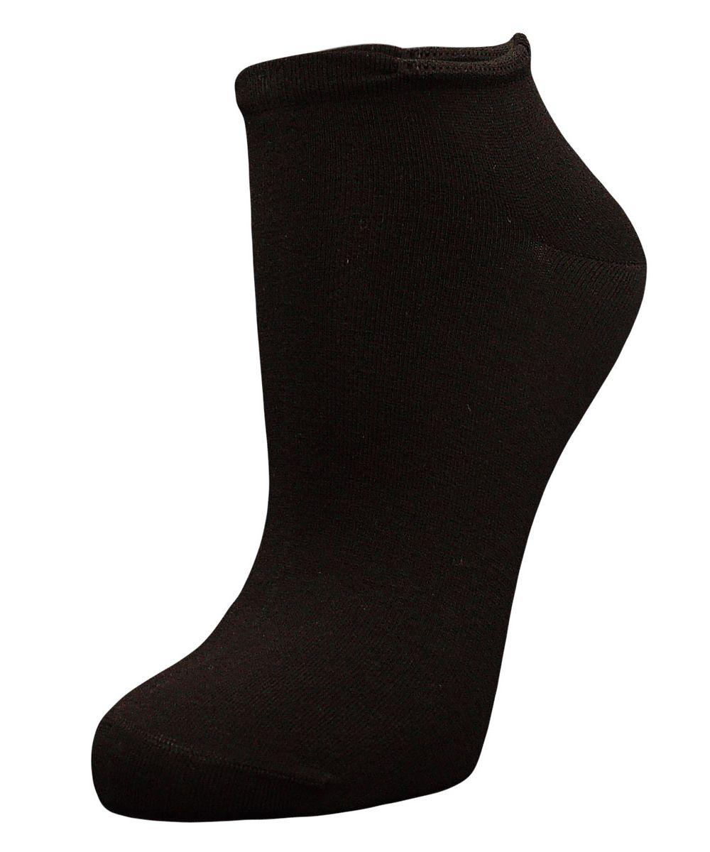 Купить Носки женские Гранд, цвет: черный, 2 пары. SCL4. Размер 23/25