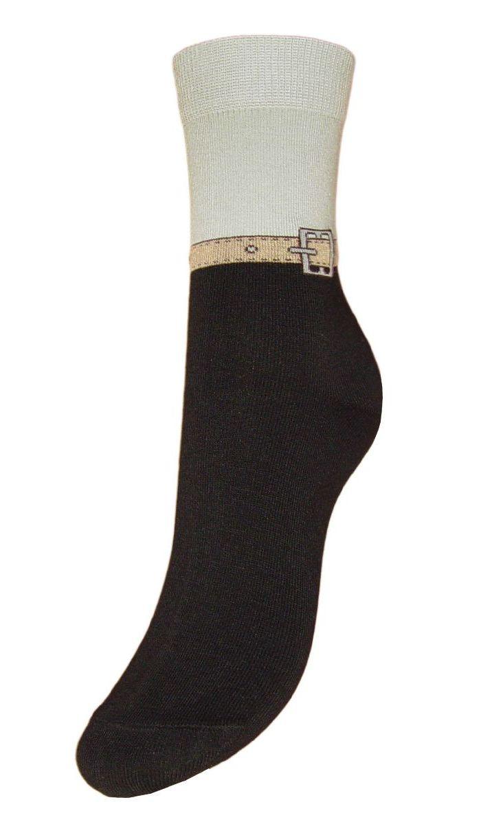 Носки женские Гранд, цвет: черный, 2 пары. SCL59. Размер 23/25 носки гранд носки