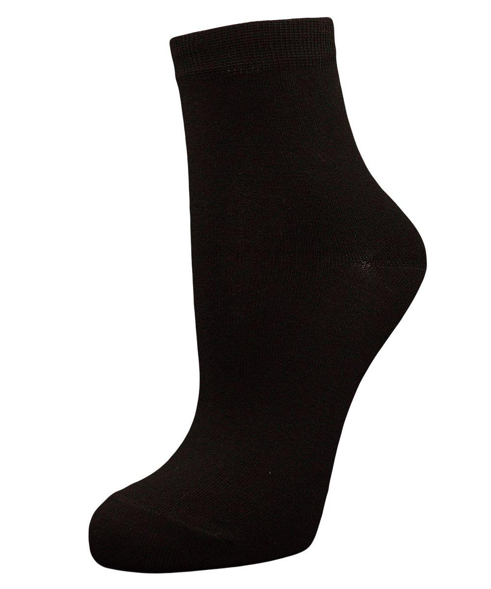 Носки женские Гранд, цвет: черный, 2 пары. SCL98. Размер 23/25 носки гранд носки
