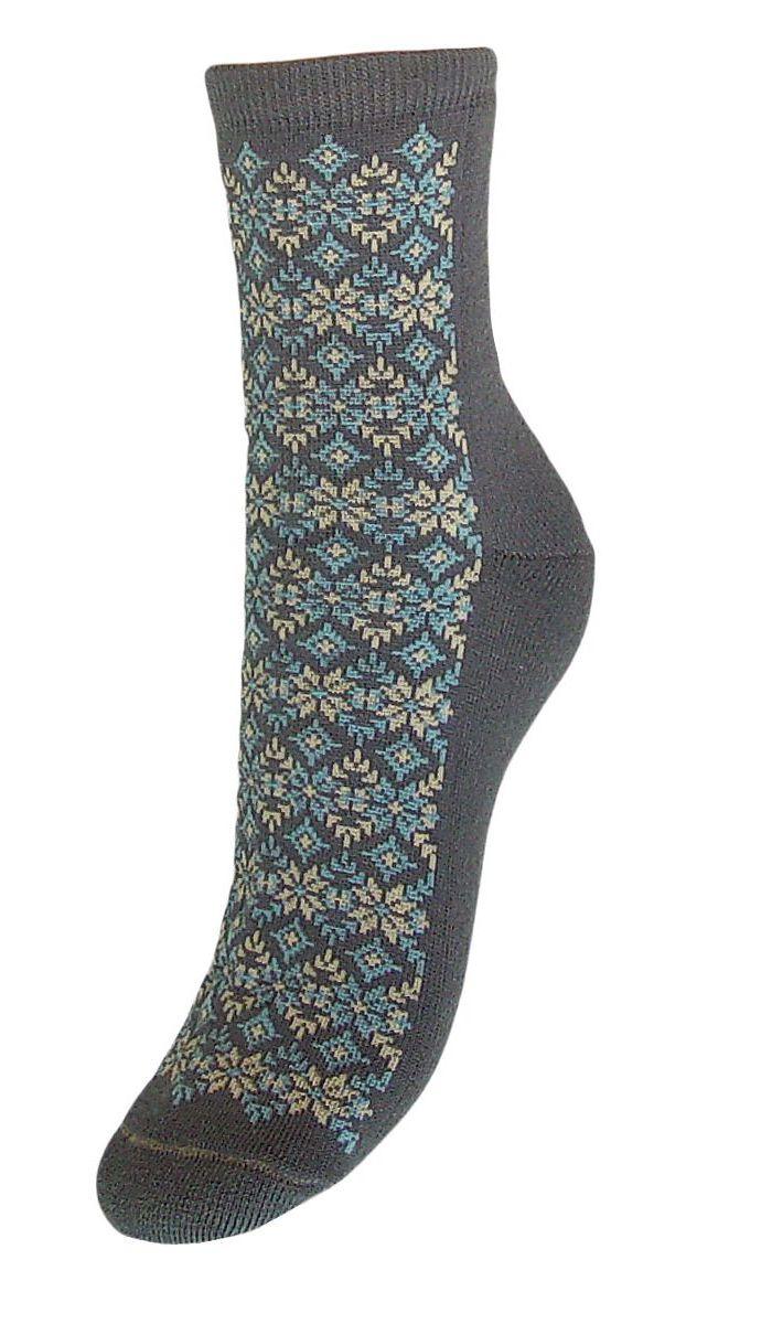 Купить Носки женские Гранд, цвет: серый, 2 пары. SC71M. Размер 23