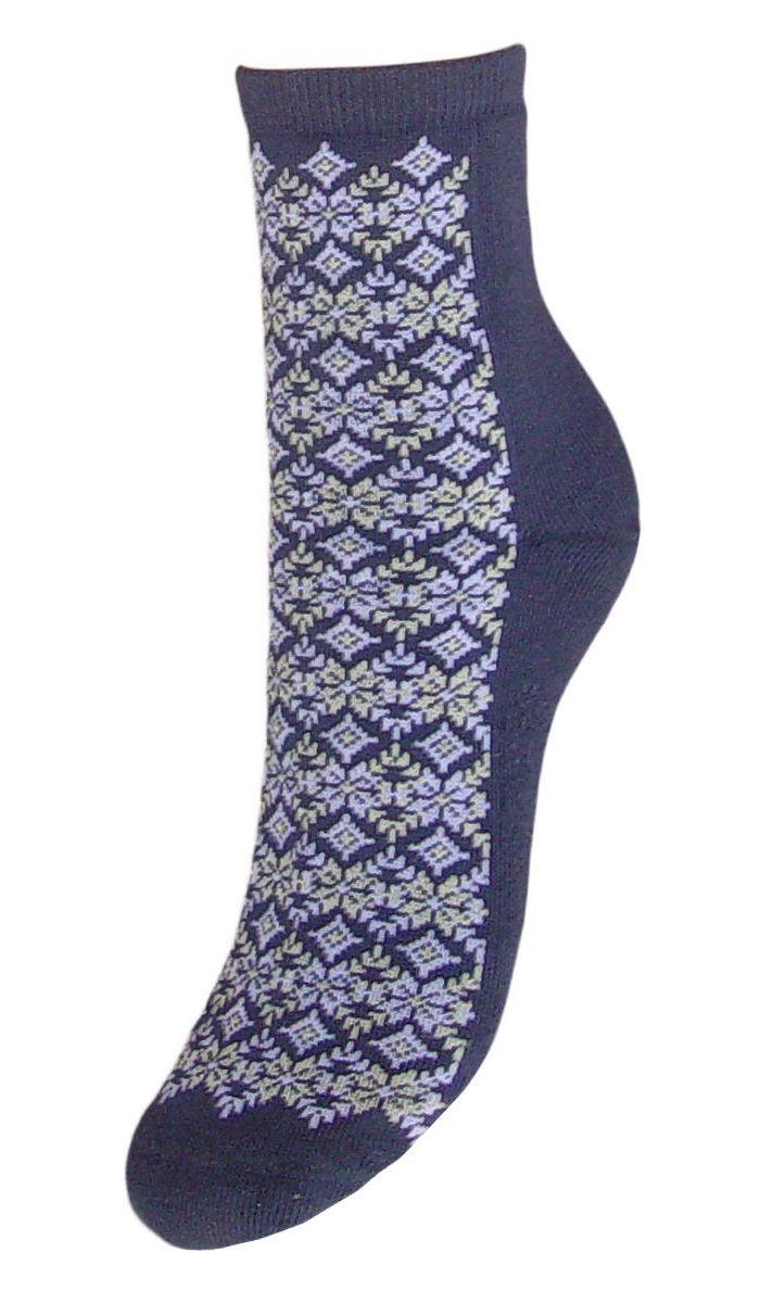 Купить Носки женские Гранд, цвет: синий, 2 пары. SC71M. Размер 23