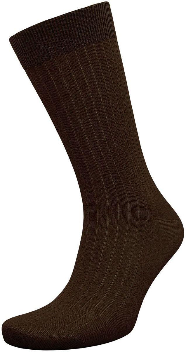 Носки мужские Гранд, цвет: коричневый, 2 пары. Z007. Размер 25 носки детские гранд цвет серый 2 пары tcl8 размер 22 24