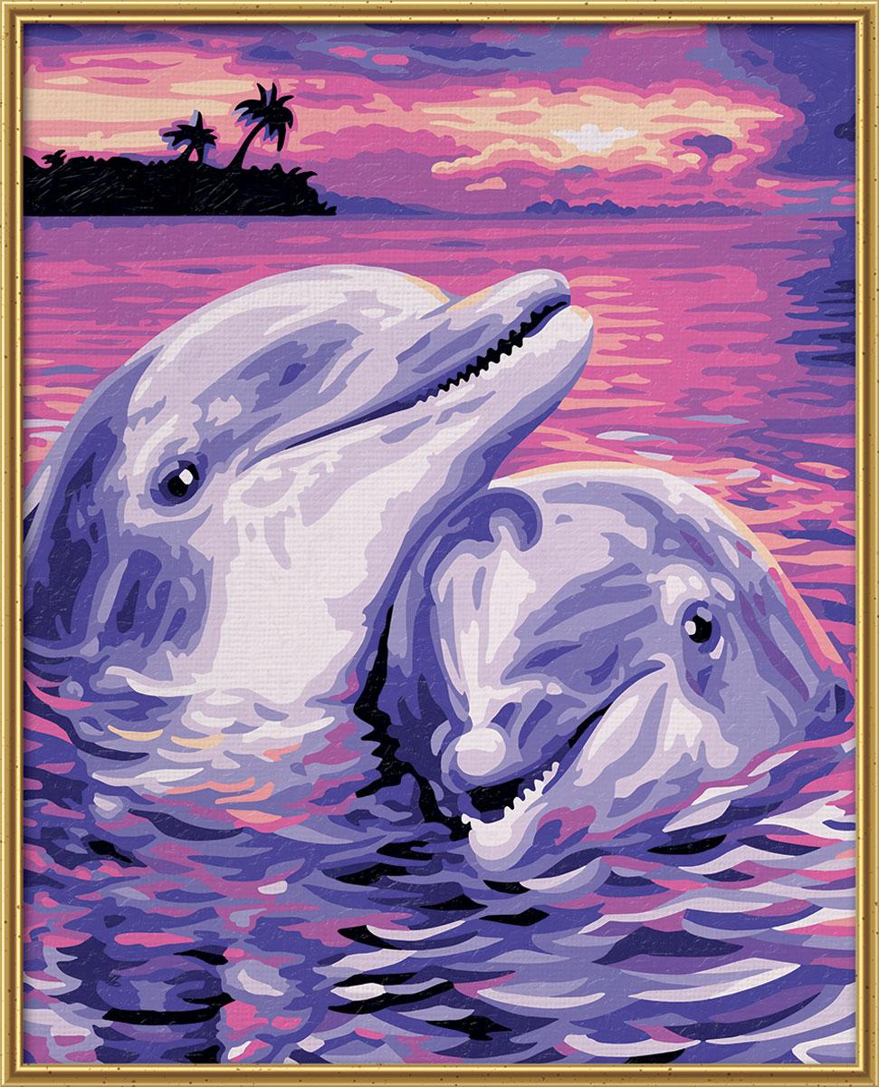 Schipper Картина по номерам Дельфины