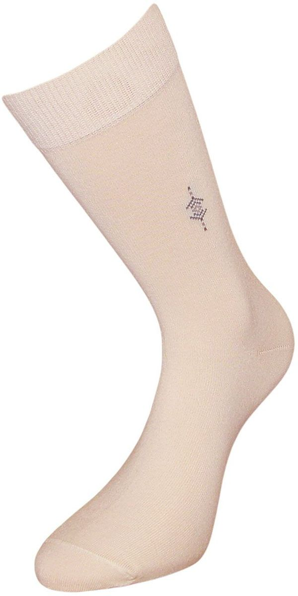 Носки мужские Гранд, цвет: кремовый, 2 пары. ZCL112. Размер 25/27 носки гранд носки