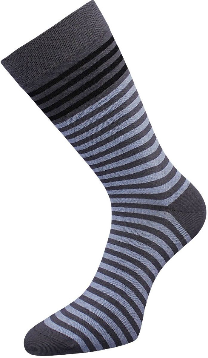 Носки мужские Гранд, цвет: серый, голубой, 2 пары. ZCL85. Размер 25/27 носки гранд носки