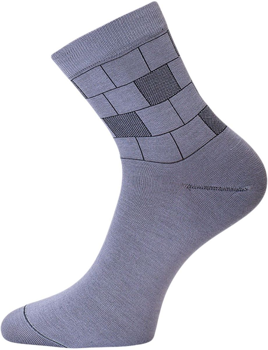 Носки мужские Гранд, цвет: серый, 2 пары. ZB55. Размер 25 носки гранд носки