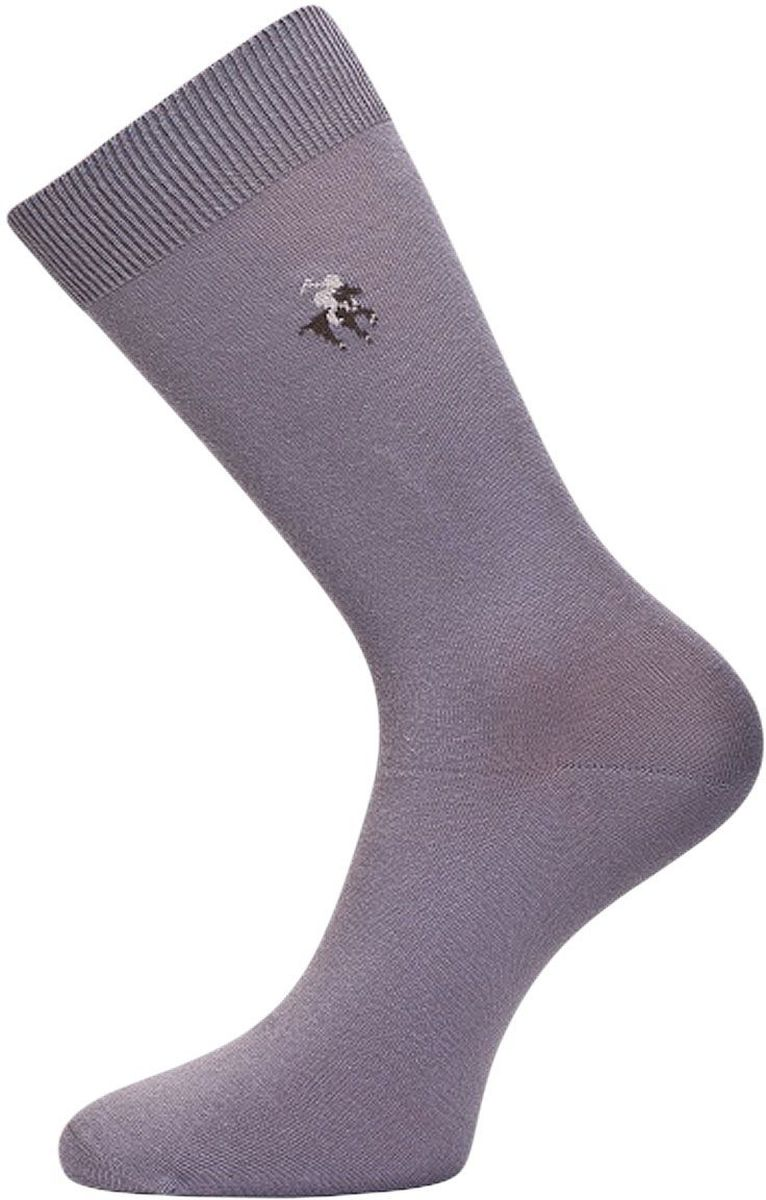 Носки мужские Гранд, цвет: серый, 2 пары. ZC22. Размер 27