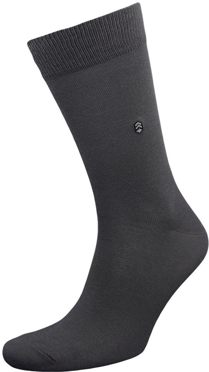 Носки мужские Гранд, цвет: серый, 2 пары. ZCL110. Размер 25/27ZCL110Мужские носки Гранд выполнены из хлопка и оформлены мелким рисунком на паголенке, для повседневной носки. Носки с бесшовной технологией зашивки мыска (кеттельный шов) хорошо держат форму и обладают повышенной воздухопроницаемостью, после стирки не меняют цвет, имеют безупречный внешний вид, усиленные пятку и мысок для повышенной износостойкости, благодаря свойствам эластана, не теряют первоначальный вид. Носки произведены по европейским стандартам на современных вязальных автоматах.
