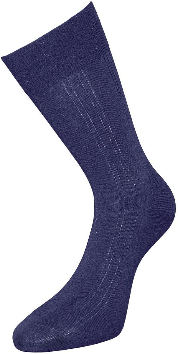 Носки мужские Гранд, цвет: синий, 2 пары. ZC104. Размер 29ZC104Классические мужские носки Гранд выполнены из высококачественного хлопка, для повседневной носки. Носки, оформленные рисунком вертикальные полоски, имеют кеттельный шов (плоский), усиленные пятку и мысок, анатомическую резинку. Носки долгое время сохраняют форму и цвет, а так же обладают антибактериальными и терморегулирующими свойствами.