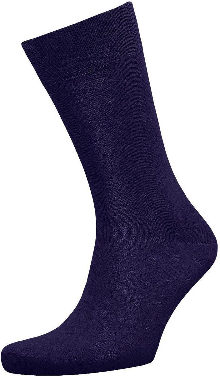 Носки мужские Гранд, цвет: темно-синий, 2 пары. ZC117. Размер 29ZC117Классические мужские носки Гранд выполнены из высококачественного хлопка, для повседневной носки. Носки, оформленные рисунком мелкий ромб, имеют кеттельный шов (плоский), усиленные пятку и мысок, анатомическую резинку. Носки долгое время сохраняют форму и цвет, а так же обладают антибактериальными и терморегулирующими свойствами.