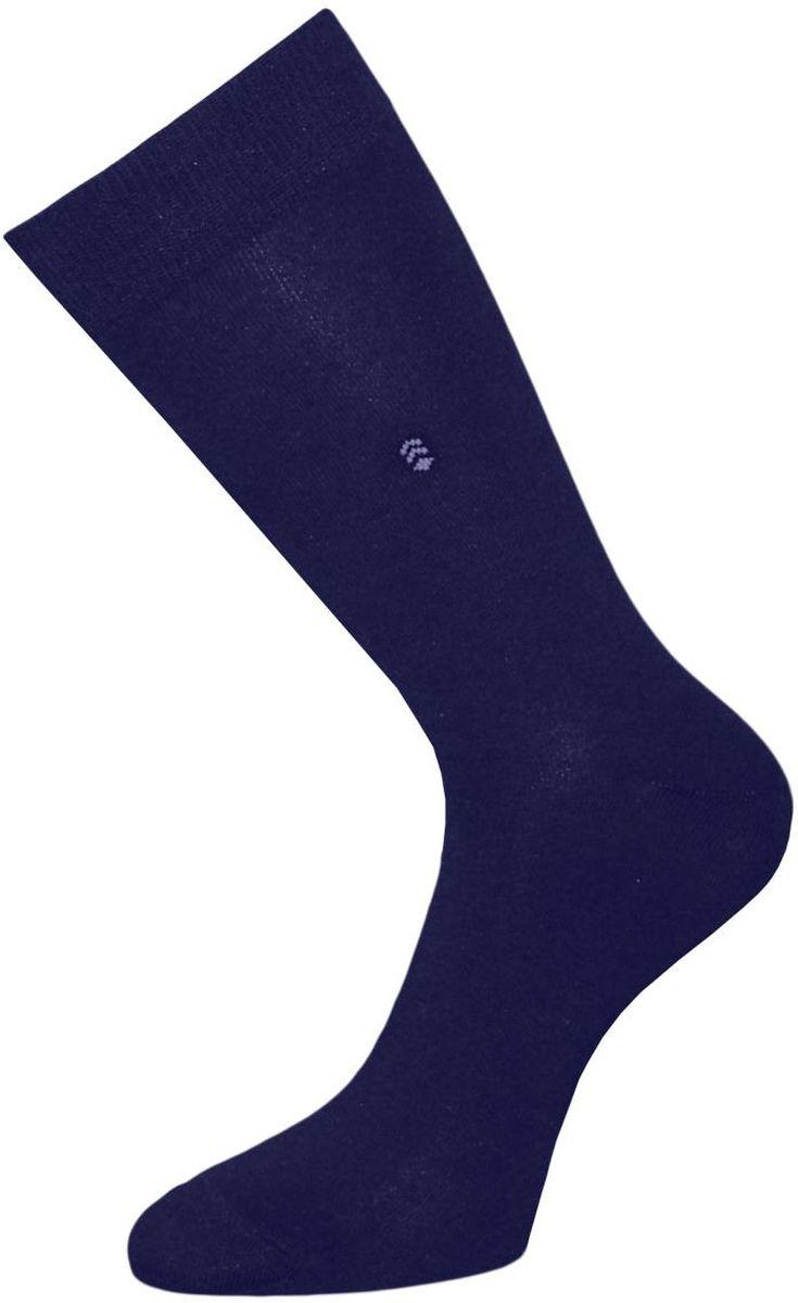 Носки мужские Гранд, цвет: темно-синий, 2 пары. ZCL110. Размер 29/31ZCL110Мужские носки Гранд выполнены из хлопка и оформлены мелким рисунком на паголенке, для повседневной носки. Носки с бесшовной технологией зашивки мыска (кеттельный шов) хорошо держат форму и обладают повышенной воздухопроницаемостью, после стирки не меняют цвет, имеют безупречный внешний вид, усиленные пятку и мысок для повышенной износостойкости, благодаря свойствам эластана, не теряют первоначальный вид. Носки произведены по европейским стандартам на современных вязальных автоматах.
