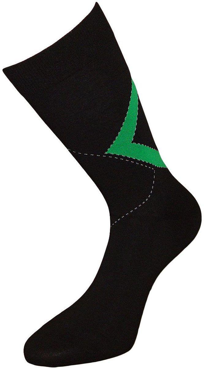 Носки мужские Гранд, цвет: черный, зеленый, 2 пары. ZC59. Размер 27ZC59Мужские носки Гранд выполнены из хлопка, для повседневной носки. Носки с бесшовной технологией зашивки мыска (кеттельный шов) хорошо держат форму и обладают повышенной воздухопроницаемостью, имеют безупречный внешний вид, усиленные пятку и мысок для повышенной износостойкости, после стирки не меняют цвет, благодаря свойствам эластана, не теряют первоначальный вид. Носки произведены по европейским стандартам на современных вязальных автоматах.