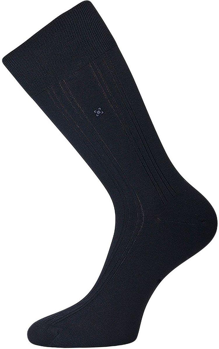 Носки мужские Гранд, цвет: черный, 2 пары. ZC100. Размер 27ZC100Классические мужские носки Гранд выполнены из высококачественного хлопка, для повседневной носки. Носки, оформленные мелким рисунком на паголенке и рисунком вертикальные полоски, имеют кеттельный шов (плоский), усиленные пятку и мысок, анатомическую резинку. Носки долгое время сохраняют форму и цвет, а так же обладают антибактериальными и терморегулирующими свойствами.