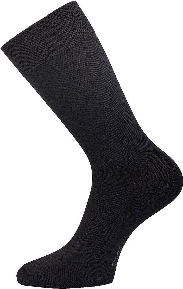 Носки мужские Гранд, цвет: черный, 2 пары. ZC7. Размер 27ZC7Классические мужские носки Гранд выполнены из высококачественного хлопка, для повседневной носки. Модель оформлена на стопе надписью Comfort. Носки имеют кеттельный шов (плоский), усиленные пятку и мысок, анатомическую резинку. Носки долгое время сохраняют форму и цвет, а так же обладают антибактериальными и терморегулирующими свойствами.